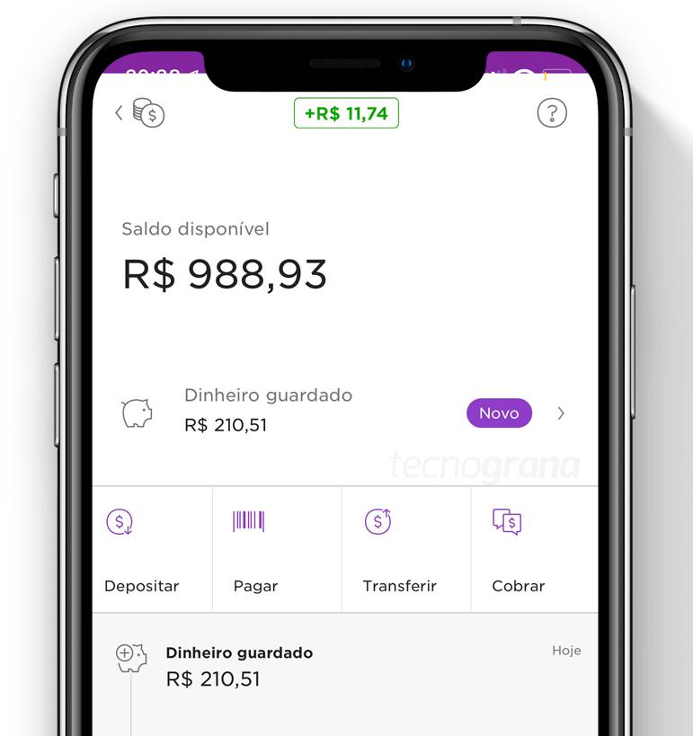 """NuConta_pork2 Entenda como funciona a função """"Guardar Dinheiro"""" da NuConta"""