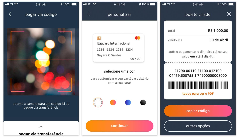 iti_telas Itaú anuncia lançamento de carteira digital própria no celular