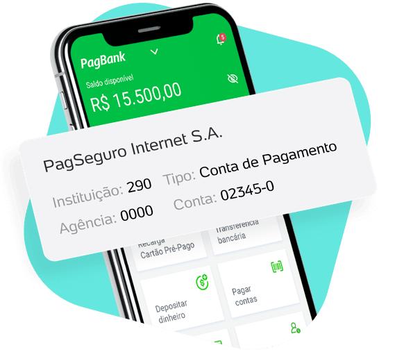 numero-da-conta PagSeguro lança PagBank, conta digital sem tarifas