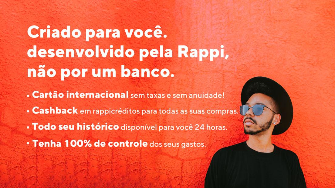 RappiPay Aplicativo Rappi anuncia cartão pré-pago para quem não tem conta em banco