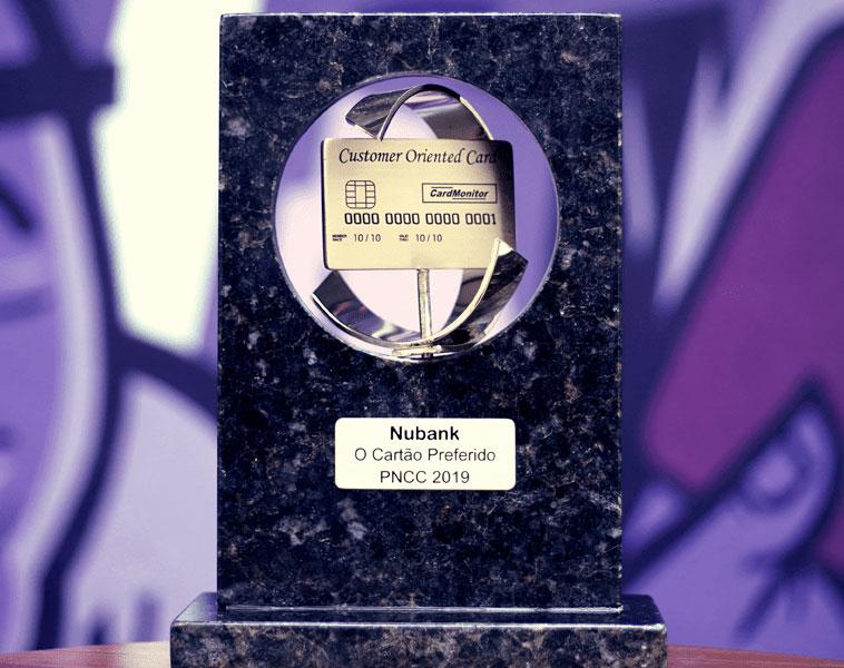 premio Nubank é eleito o cartão de crédito preferido dos brasileiros em 2018