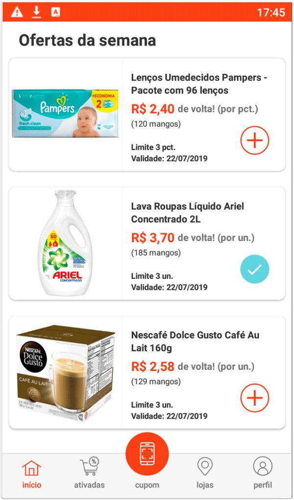 Mangos1 Aplicativo Mangos lhe dá cashback em compras normais do supermercado e farmácias