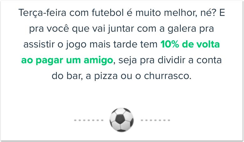 PicPaySelecao Aplicativo PicPay dá cashback em noite de jogo do Brasil na Copa América