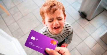 cartão nubank com limite de 50 reais