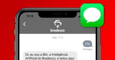 Bradesco Apple Chat