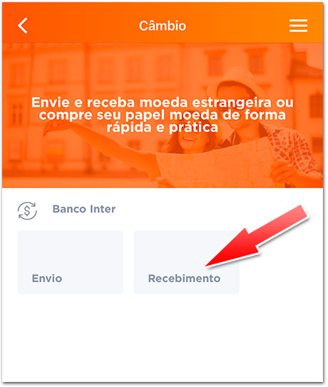 Cambio-Inter-1 Como receber pagamento do AdSense pelo Banco Inter