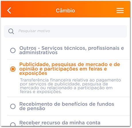Cambio-Inter-5 Como receber pagamento do AdSense pelo Banco Inter