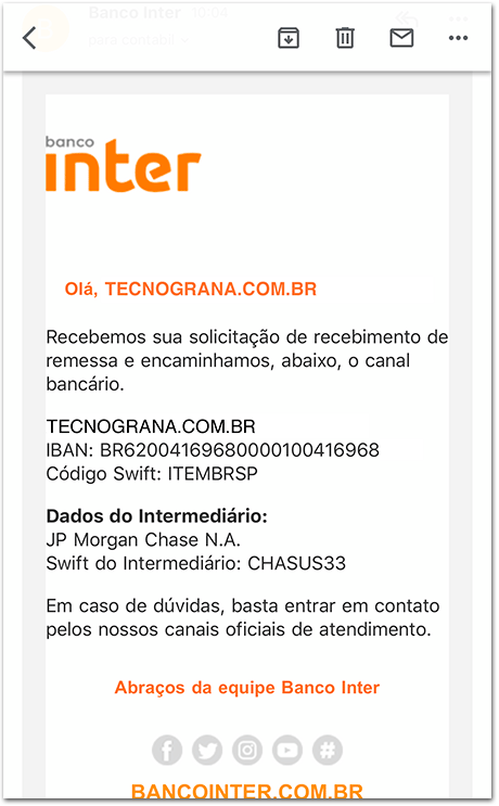 Cambio-Inter-7 Como receber pagamento do AdSense pelo Banco Inter