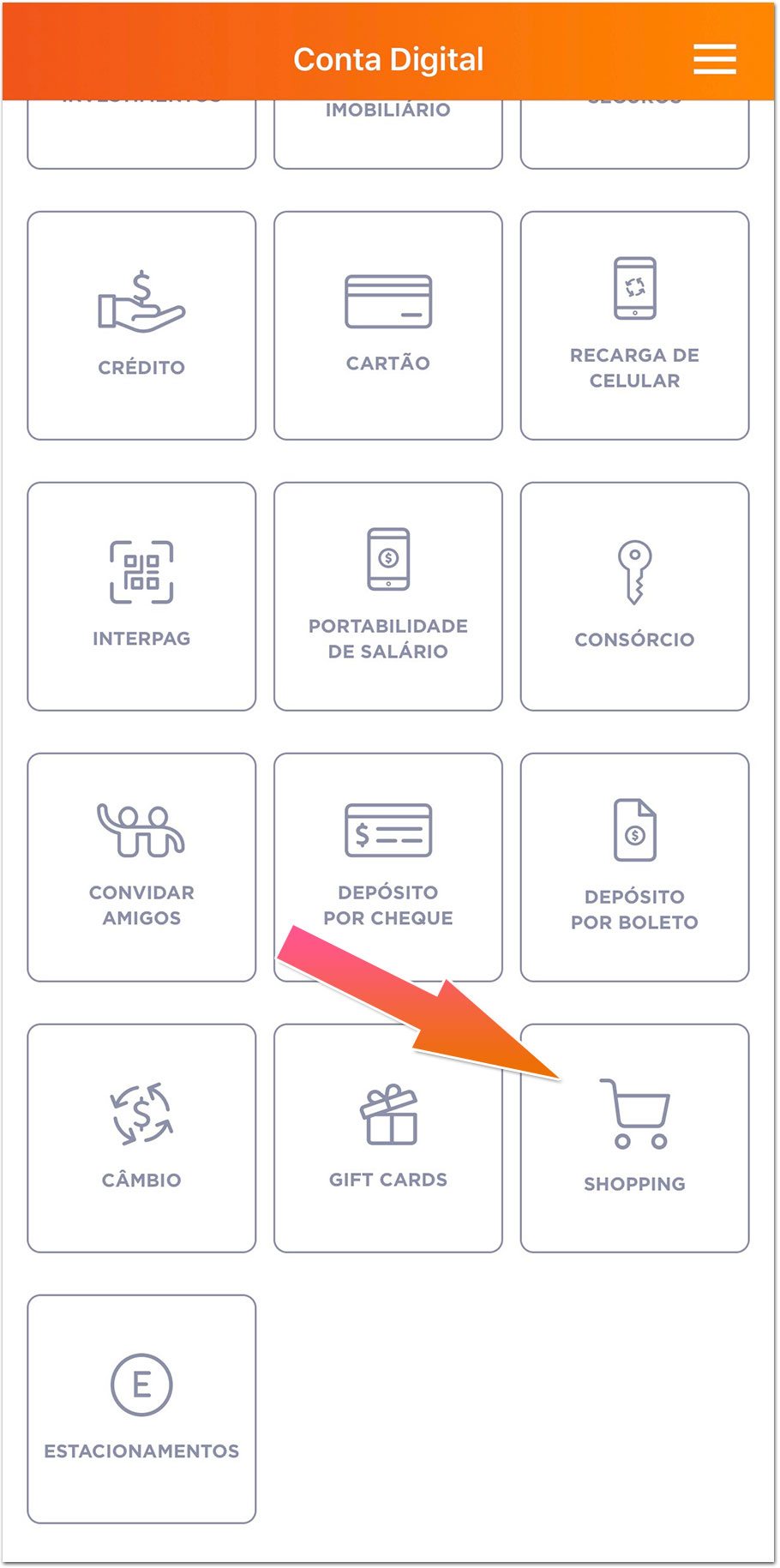 Inter-Shopping Banco Inter passa a oferecer cashback em compras no e-commerce