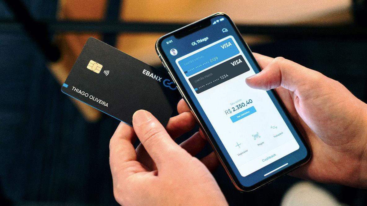 EbanxGo3 Ebanx planeja lançar conta digital com cashback de 5%