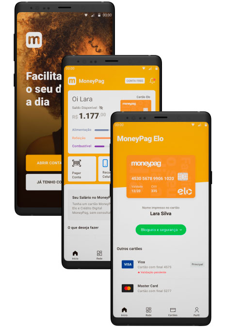 MoneyPag2 Conta digital MoneyPag lança primeiro cartão no Brasil a não ter número impresso