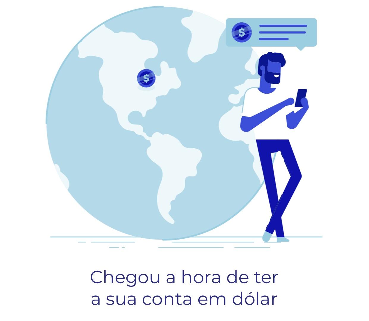 containternacional Como funciona a conta internacional em dólar do banco BS2