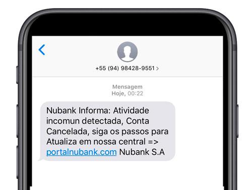 golpe-nubank Saiba como identificar golpes na internet e proteger o seu dinheiro