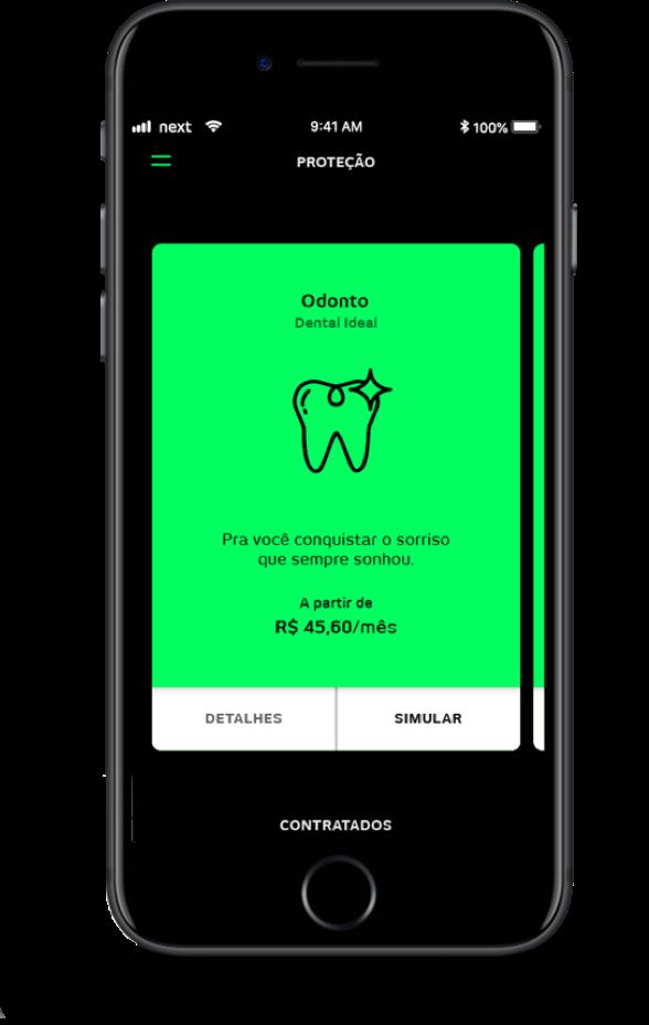 image001 Banco digital next lança Seguro Dental que reembolsa valor da consulta de dentistas não conveniados