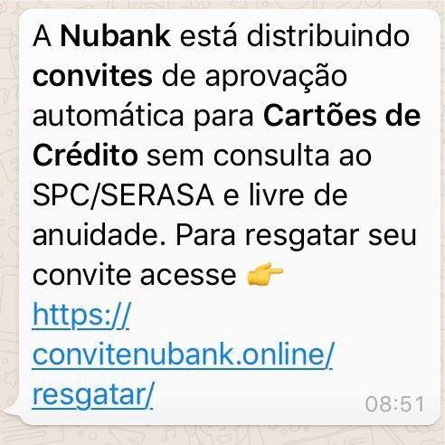 GolpeNubank2 Nubank faz campanha contra os golpes na internet que tentam enganar clientes