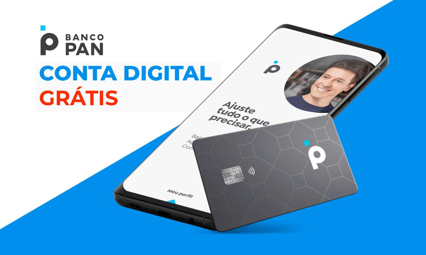 Banco PAN lança conta digital com cartão de crédito livre de anuidade |  Tecnograna