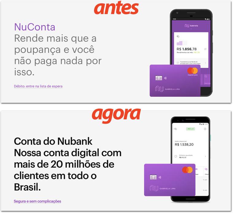 Nucontadigital NuConta muda de nome para fortalecer a marca Nubank