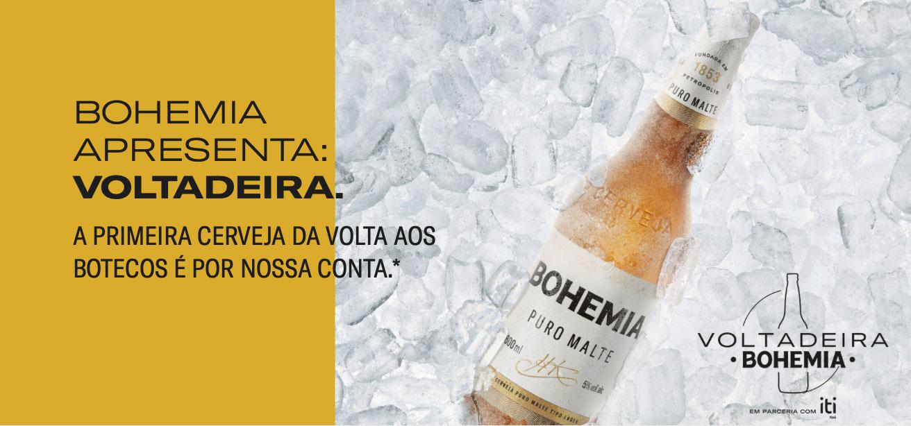 Voltadeira2 Como ganhar R$7,50 pelo iti com a promoção Voltadeira Bohemia