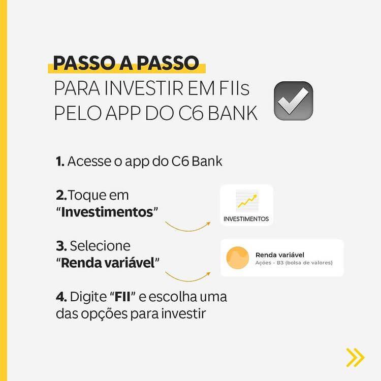 129767571_3183979571708431_1810657087687419881_n C6 Bank passa a oferecer também fundos imobiliários (FIIs) direto em seu aplicativo