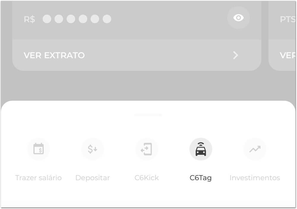 C6Tag-app Em parceria com Veloe, C6 Bank muda sua tag de pedágios e agora suporta estacionamentos