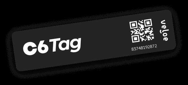 c6-tag Em parceria com Veloe, C6 Bank muda sua tag de pedágios e agora suporta estacionamentos