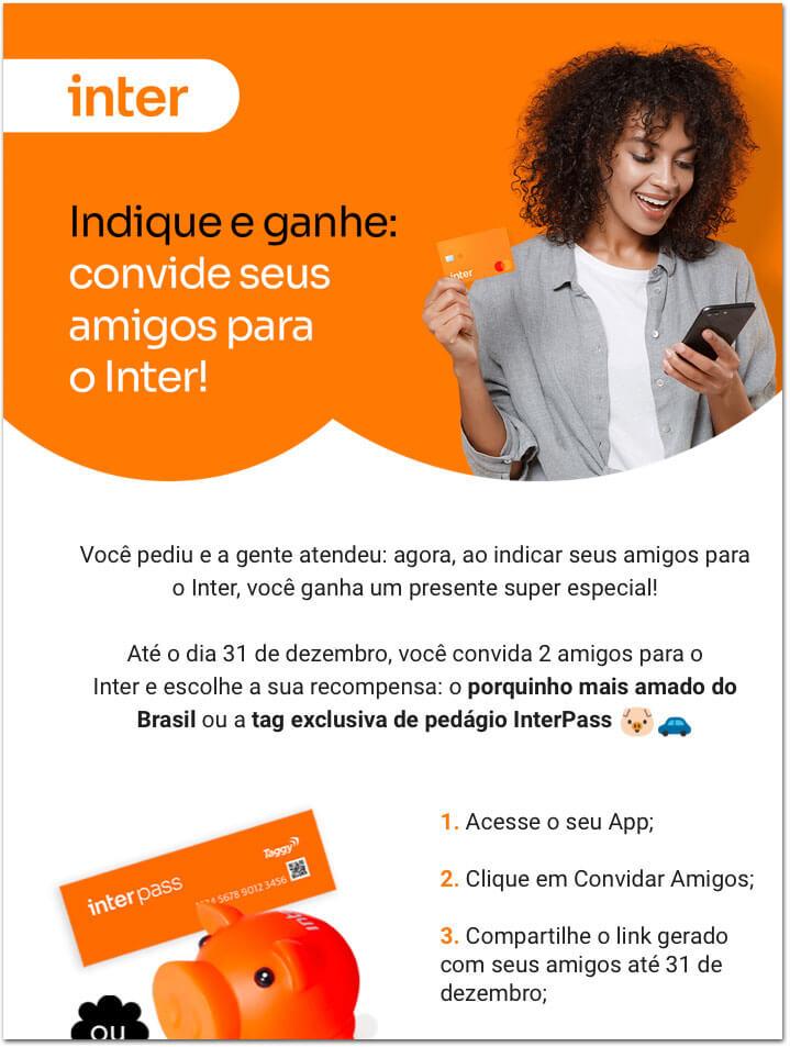 emailInter-2 Banco Inter revela antes do tempo o InterPass, sua tag própria para pedágios