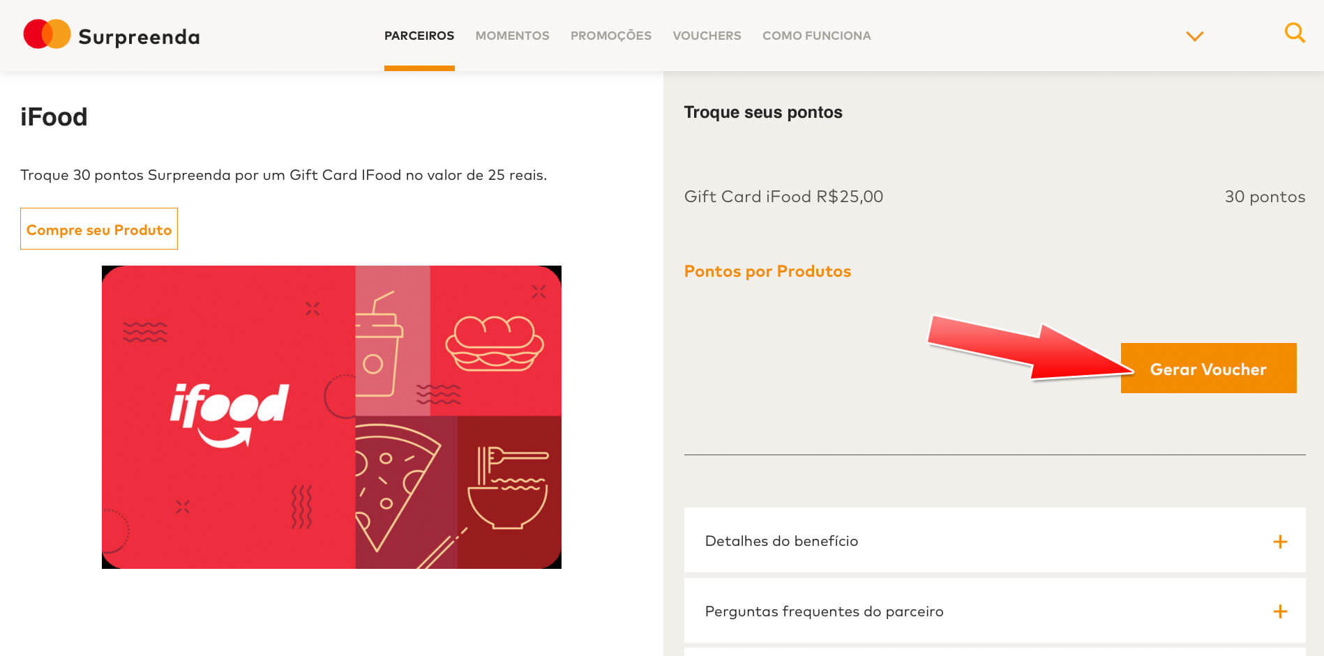 surpreenda2 Veja como ganhar um voucher de R$25 no iFood com o Mastercard Surpreenda