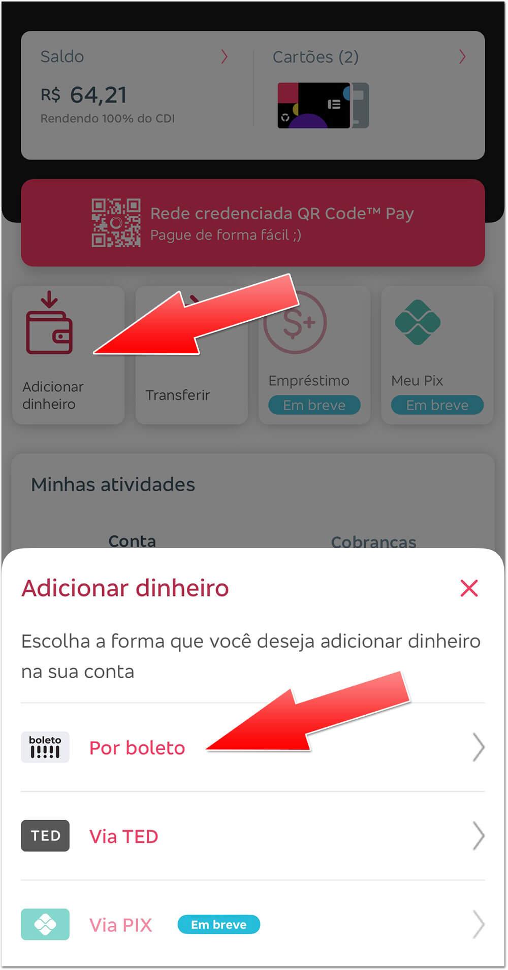 Bitz-deposito PROMOÇÃO: Carteira digital Bitz dá R$10 de bônus para quem depositar dinheiro na conta