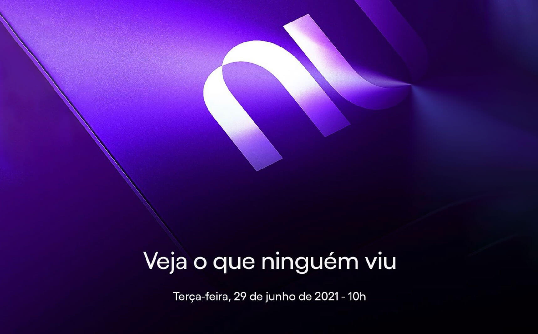 Nuconvite2 Nubank apresentará grandes novidades no dia 29 de junho